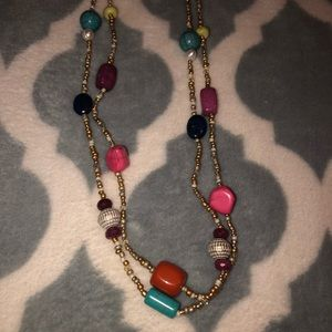 Chico's long Layered Necklace